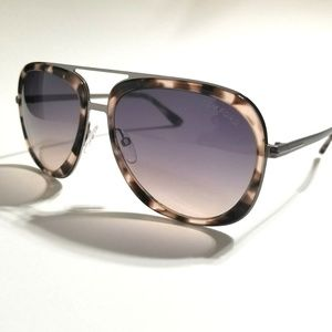 Tom Ford Sam Unique Purple/Pink shaded lens, Brown